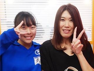 蘇南中 3年生 武藤さんとお母様